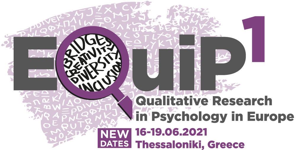 1st Conference of the Association of European Qualitative Researchers in Psychology: Creating Bridges