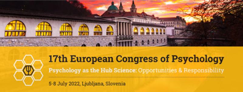 17th European Congress of Psychology – ECP 2022